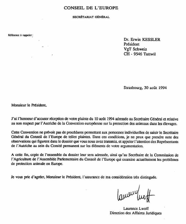 Brief Auf Italienisch